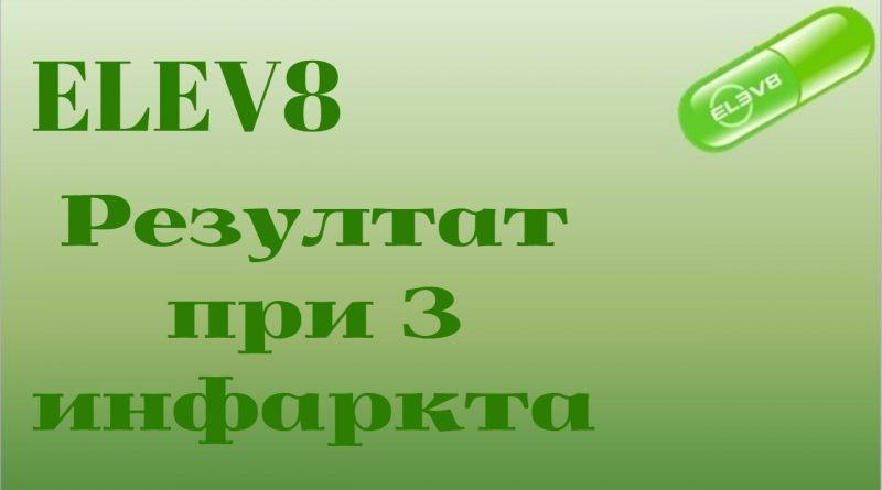 ELEV8.Резултат след 3 прекарани инфаркта